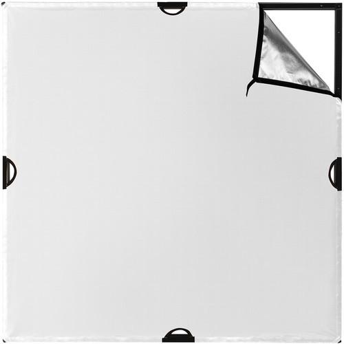 Westcott scrim jim cine silver white bounce fabric %284 x 4'%29