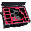 Jason Cases Hard Case with Custom Foam for Blackmagic Design URSA Mini Camera