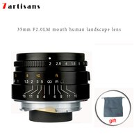 7 artisans 35mm f2 large aperture paraxial m mount lens for leica cameras m m m240 small