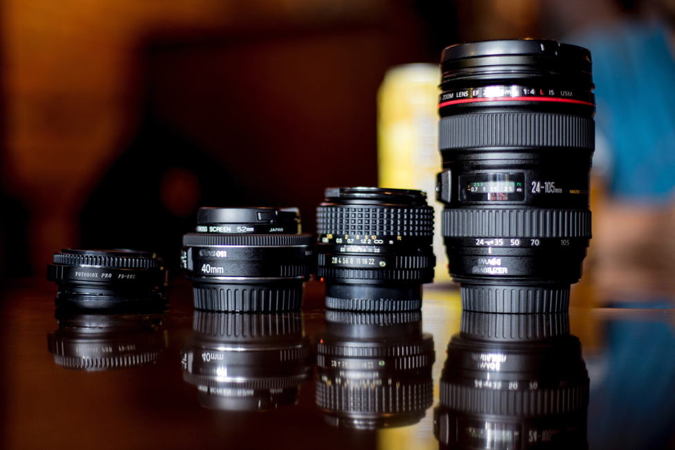 Top Five Lens Choice Considerations