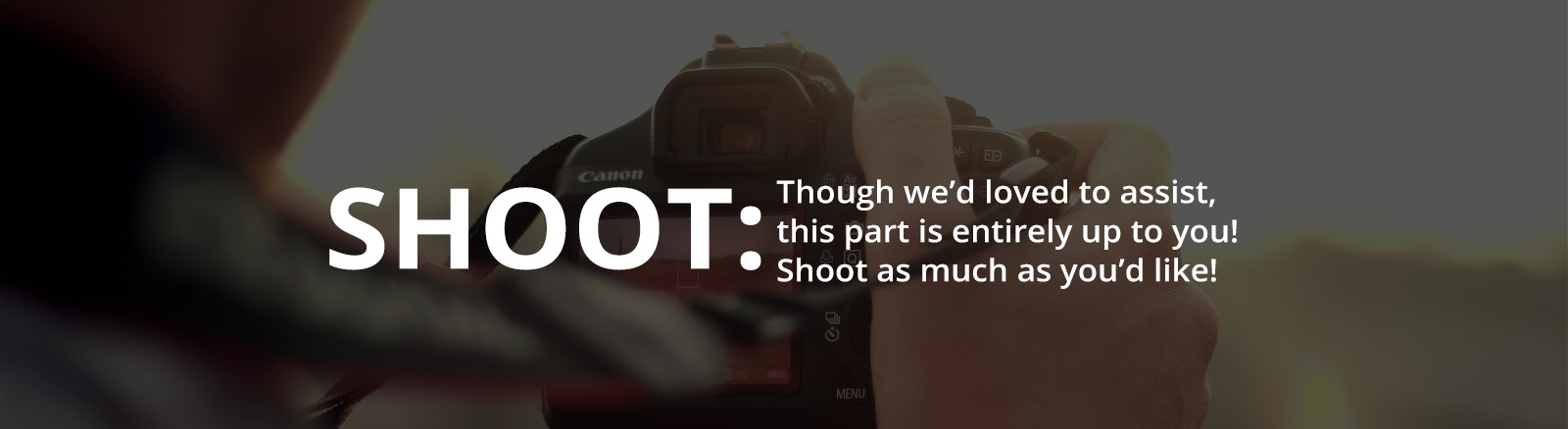 LensProToGo - How It Works - SHOOT