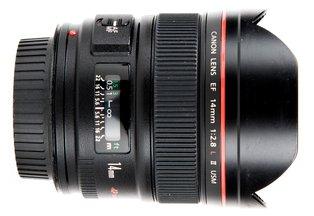 Canon 14mm f/2.8L II