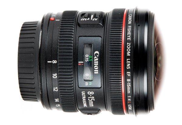Canon 8-15 Fisheye