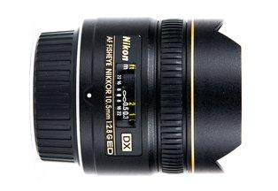 Nikon 10.5 f/2.8D DX Fisheye