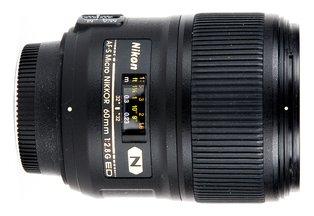 Nikon 60 f/2.8G AF-S ED Micro