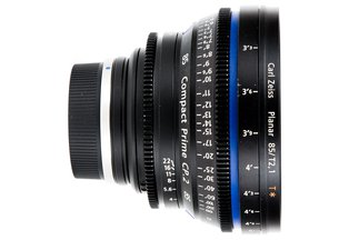 Zeiss 85 T2.1 CP2 Compact Prime EF-mount