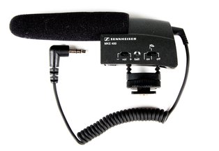 Sennheiser MKE 400 On-Camera Shotgun Microphone