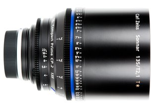 Zeiss 135 T2.1 CP2 Compact Prime Cine Lens EF Mount