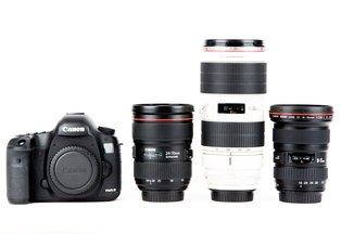 Canon 6D Three Zoom Kit