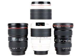 Canon Three Zoom Kit