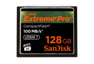 SanDisk Extreme Pro CF 128GB Memory Card 100MB/s