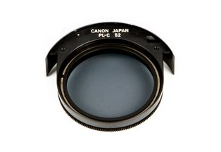 Canon 52mm Drop-in Circular Polarizing Filter