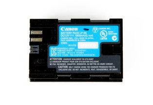 Canon LP-E6 Battery for 5DS, 5DS R, 5DIV, 5DIII, 5DII, 6D, 7DII, 7D, 70D, 80D