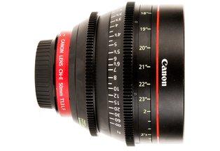 Canon 50 T1.3 CN-E L F Cine Lens