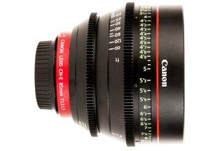 Canon 85 T1.3 CN-E L F Cine Lens