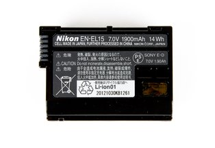 Nikon EN-EL15 Battery for D500, D750, D810, D800, D610, D600, D7200, D7100