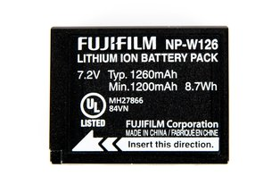 FujiFilm NP-W126 Battery for X-E2S, X-Pro2, & X-T1