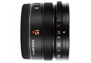 Panasonic Leica 15 f/1.7 Summilux ASPH MFT