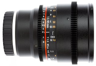 Rokinon 85 T1.5 Cine DS Lens for Sony E