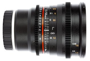 Rokinon 50 T1.5 Cine DS Lens for Sony E