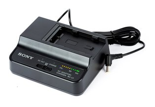 Sony BC-U1 Battery Charger & AC Adapter for FS7M2, FS7, & FS5