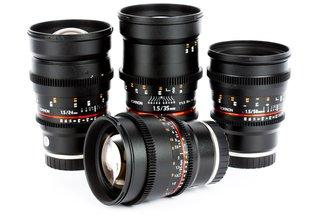 Rokinon Cine DS Prime 24, 35, 50, 85 T1.5 Lens Kit Sony E Mount