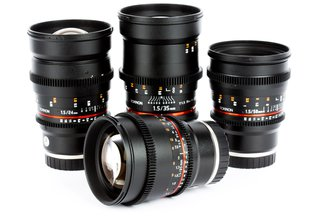 Rokinon Cine DS Prime 24, 35, 50, 85 T1.5 Lens Kit Canon EF Mount
