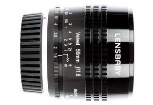 Lensbaby Velvet 56 f/1.6 for Canon EF