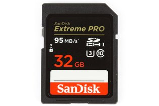 SanDisk Extreme Pro SD 32GB Memory Card 95MB/s