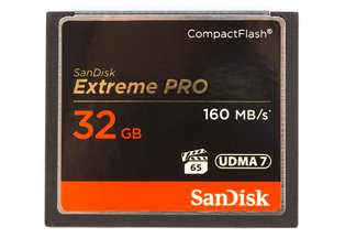SanDisk Extreme Pro CF 32GB Memory Card 160MB/s