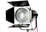 "Fiilex 8"" Fresnel & Barn Doors for Q500 & Q1000"