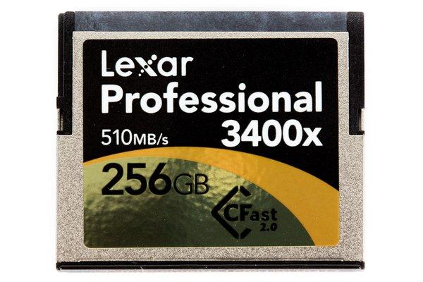 Lexar 256GB CFast Memory Card