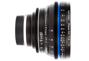 Zeiss 50 T1.5 CP2 Super Speed Compact Prime Cine Lens EF Mount