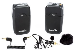 Rode Wireless Lav Microphone RodeLink Filmmaker Kit
