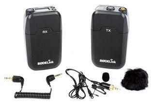 Rode Wireless Lav Microphone RodeLink Filmmaker Kit