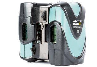 Anton Bauer Digital G90 Gold Mount Battery Kit