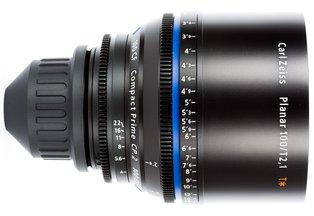 Zeiss 100 T2.1 CP2 Compact Prime Cine Lens PL Mount