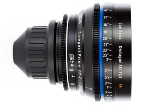 Zeiss 35 T1.5 CP2 Super Speed Compact Prime Cine Lens PL Mount