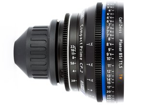 Zeiss 85 T1.5 CP2 Super Speed Compact Prime Cine Lens PL Mount