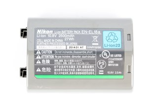 Nikon EN-EL18a Battery for D5, D4s, & D4