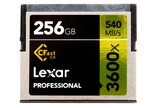 Lexar 256GB CFast 2.0 Memory Card 3600x 540MB/s for Arri Alexa Mini