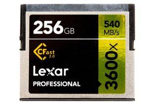 Lexar 256GB CFast 2.0 Memory Card 540MB/s for Arri