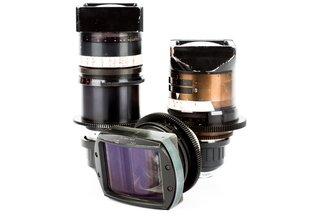 LOMO Anamorphic PL 35, 50, 80 Square Front Cine Lens Kit