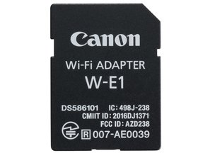 Canon W-E1 Wi-Fi Adapter for 7DII, 5DS, & 5DS R