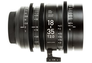 Sigma 18-35 T2.0 Cine Zoom Lens Canon EF Mount