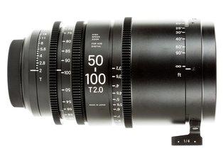 Sigma 50-100 T2.0 Cine Zoom Lens Canon EF Mount