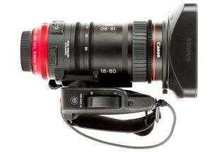 Canon 18-80 T4.4 CN-E Compact-Servo Cinema Zoom Lens EF Mount