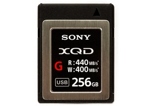 Sony 256GB G Series XQD Memory Card 440MB/s