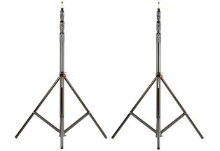 Manfrotto 1004BAC 12 ft Light Stand Kit (2x)