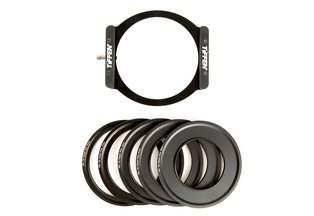 Tiffen Pro100 Series Filter Holder Kit w/ Adapter Rings